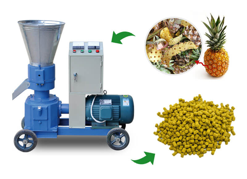 Gemco small pellet mill helps you make your own pellets at