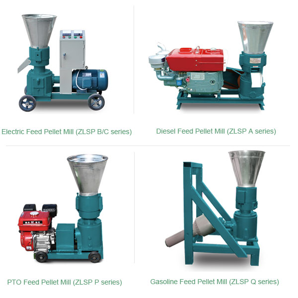 4 types of feed pellet mill