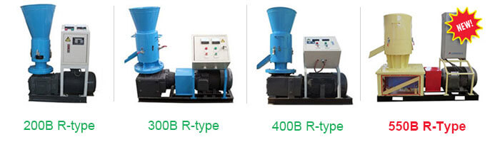 R-type electric biomass pellet mill