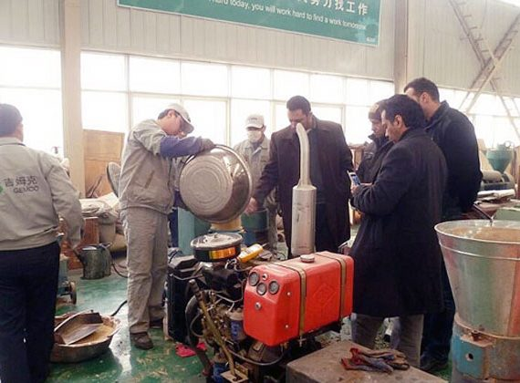 Mobile Pelletizing System purchased by Regular Clients from Saudi Arabia