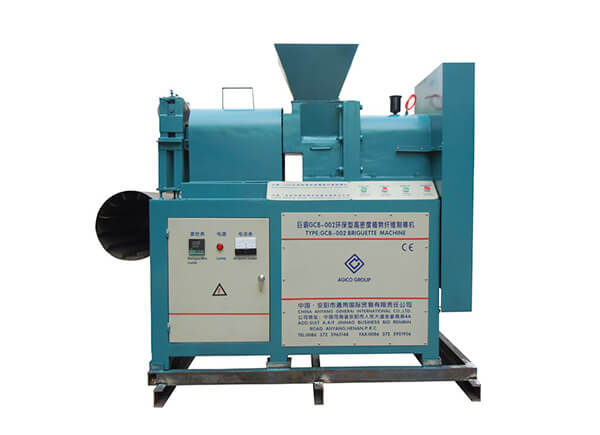 Screw Press Briquetting machine