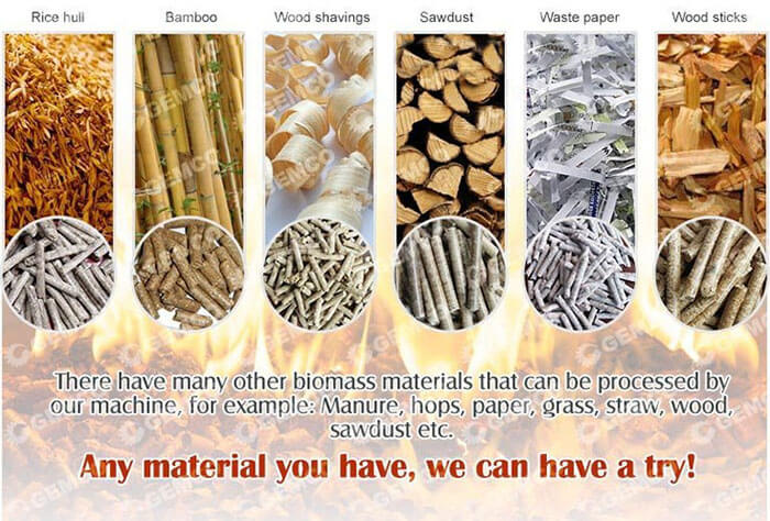biomass making materials