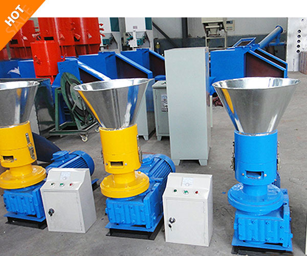 electric wood pellet mill