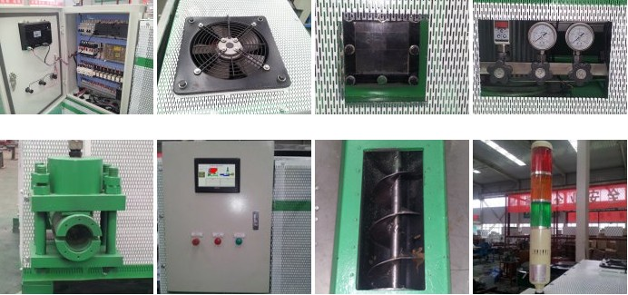 Details of Hydraulic Briquette Machine