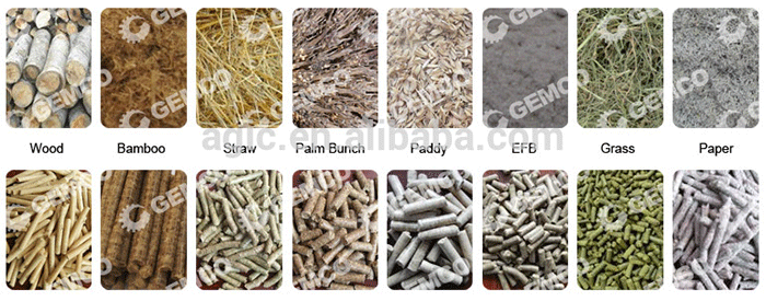 pellet making raw materials