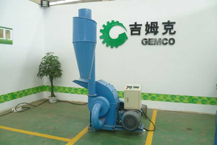 GEMCO-electric-hammer-mill-with-cyclone
