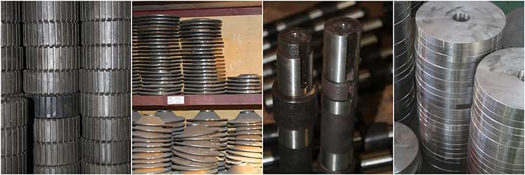 pellet mill spare parts inventory